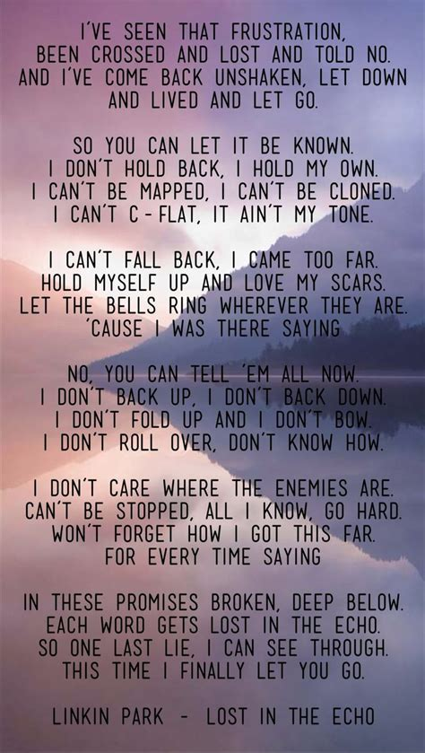 48 best images about Linkin Park's lyrics and quotes on