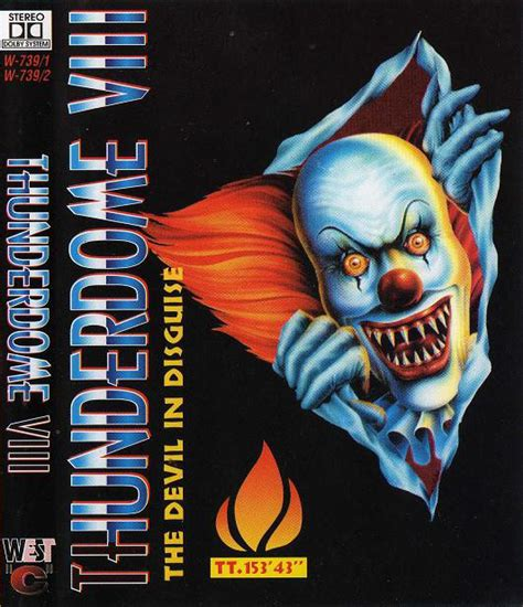 Thunderdome VIII - The Devil In Disguise (1995, Cassette