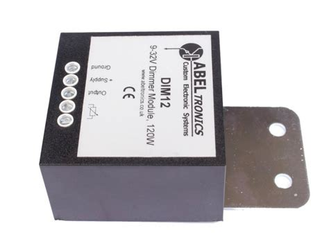 DIM12 - LED Dimmer, Rotary Potentiometer Controlled, PWM
