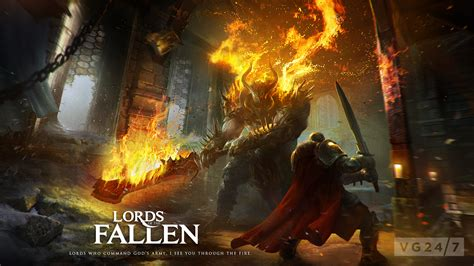 Lords of the Fallen video features a hulking brute who