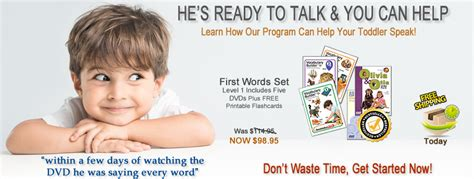 Speech Therapy DVDs for Late Talkers