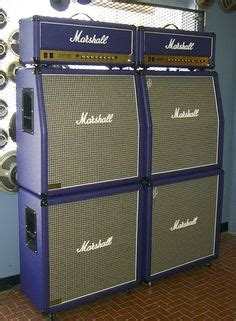 """1972 Marshall JMP Full Stack """"Red"""" Vintage Electric and"""