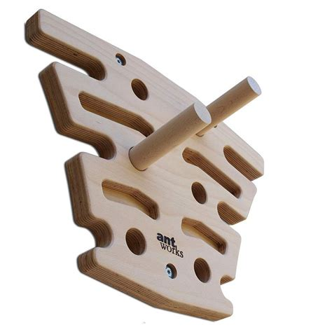 ANTWORKS Power Ant   Trainingsboard aus Holz   Pegboard
