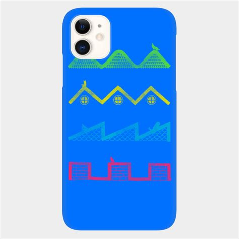 Sound Waves Phone Case By Messing Design By Humans