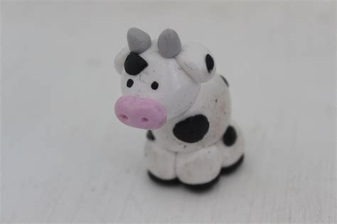 How to Make a Polymer Clay Cow | Curious