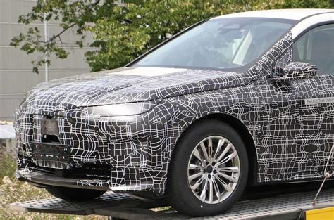BMW iNext: high-tech electric SUV seen with less disguise