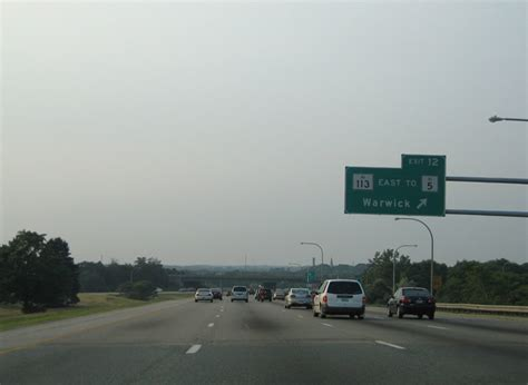Interstate 95 North - Warwick to Downtown Providence