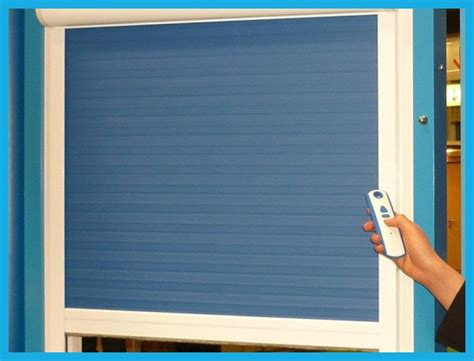 Motorized Vertical Roll up Blinds with Remote / Switch